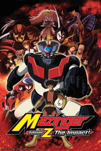 Poster of Mazinger Edition Z: The Impact!