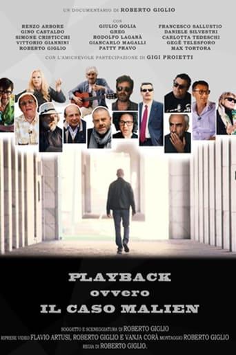 Poster of Playback - Il caso Malien
