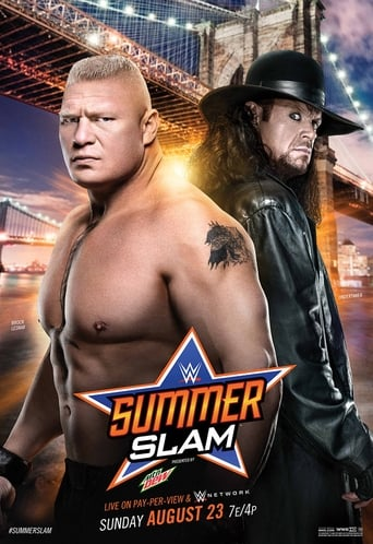 Poster of WWE SummerSlam 2015 fragman