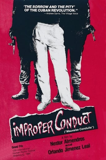 Poster of Improper Conduct