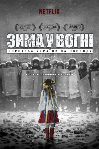 Poster of Winter on Fire: Ukraine's Fight for Freedom