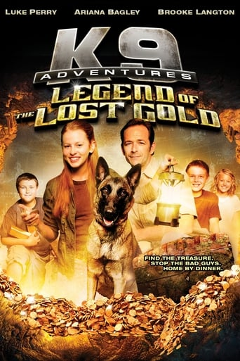 Poster of K-9 Adventures: Legend of the Lost Gold