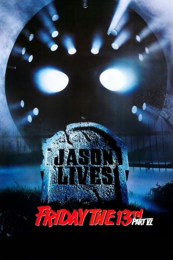 Poster of Friday the 13th Part VI: Jason Lives