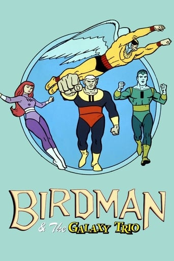 Capitulos de: Birdman y el trio galaxia