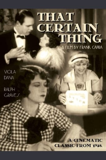 Poster of That Certain Thing