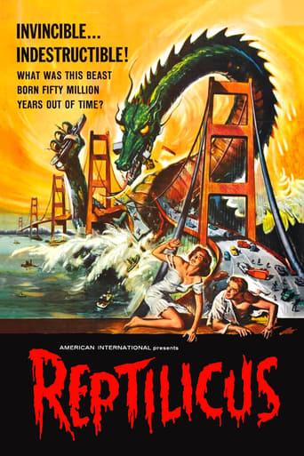 Reptilicus poster