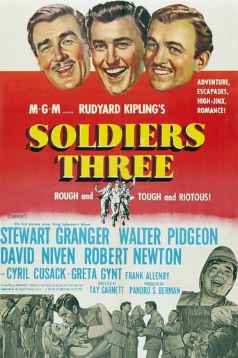 Poster of Soldiers Three