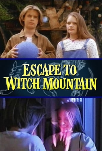 Poster of Escape to Witch Mountain