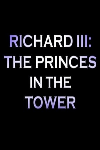 Poster of Richard III: The Princes In the Tower