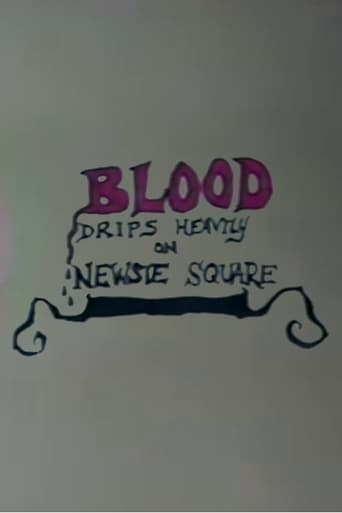 Poster of Blood Drips Heavily on Newsie Square