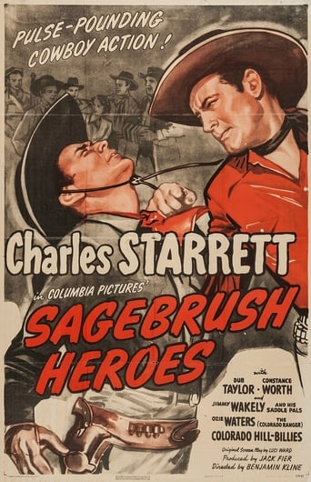 Poster of Sagebrush Heroes