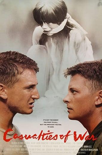 Casualties of War (1989) - poster