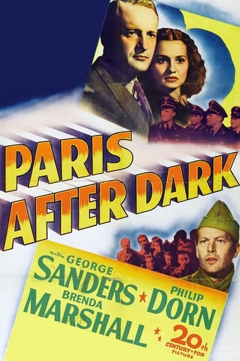 Paris After Dark Movie Poster