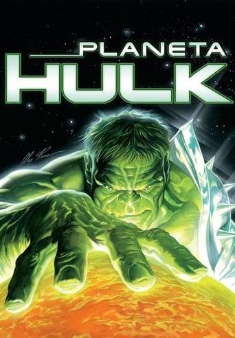 Planeta Hulk - Poster