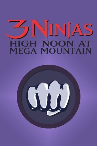 3 Ninjas: Aventura na Mega Mountain - Poster
