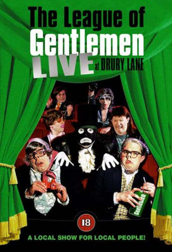 Poster of The League of Gentlemen: Live at Drury Lane