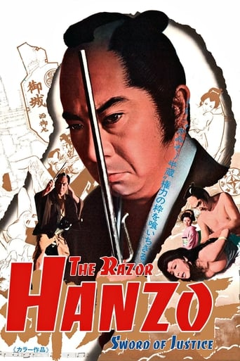Poster of Hanzo the Razor: Sword of Justice