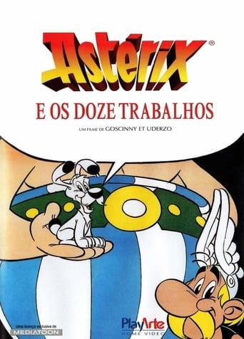 Os 12 Trabalhos de Asterix - Poster