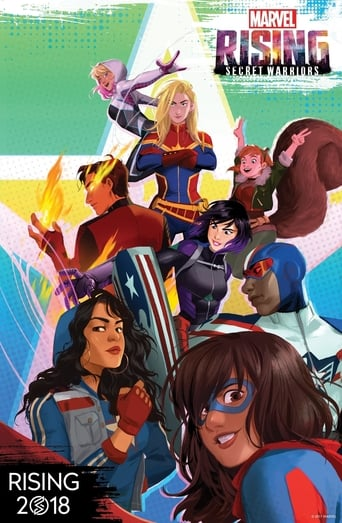 Marvel Rising Secret Warriors 1ª Temporada - Poster