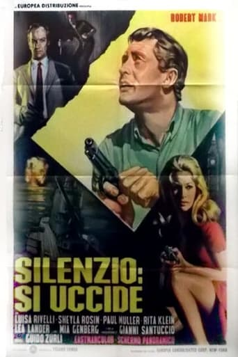 Poster of Silenzio: Si uccide