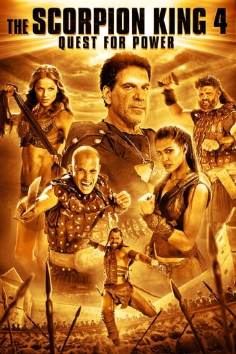 Poster of The Scorpion King: Quest for Power