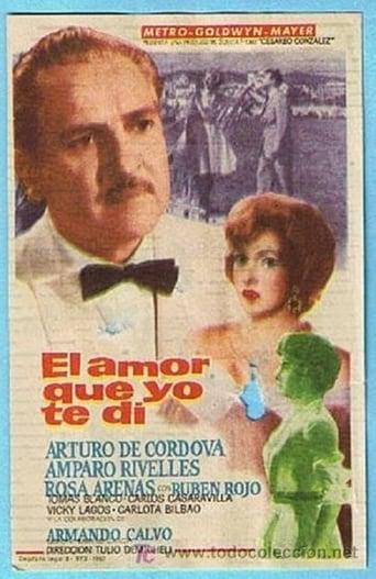 El amor que yo te dí Movie Poster