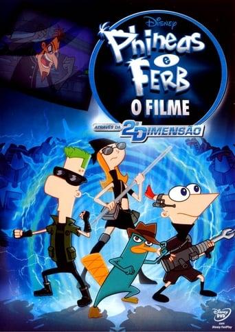 Phineas e Ferb: O Filme - Através da 2ª Dimensão - Poster