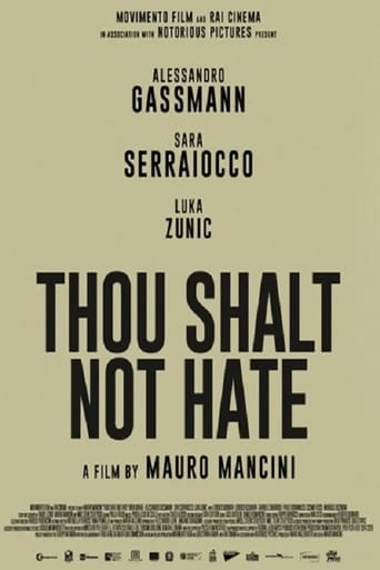 Poster of Thou Shalt Not Hate