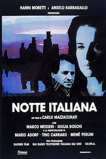 Poster of Notte italiana