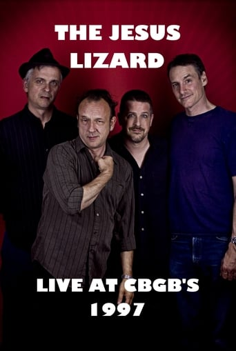 Poster of The Jesus Lizard Live at CBGB's