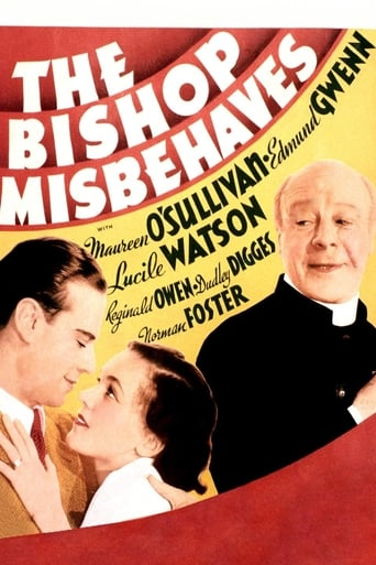 Poster of The Bishop Misbehaves