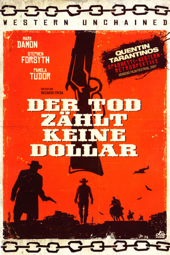 Poster of Death Does Not Count the Dollars