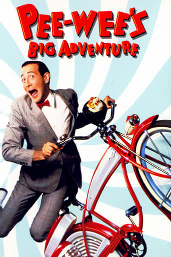 Poster of Pee-wee's Big Adventure