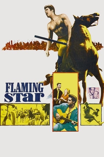 Flaming Star (1960) - poster