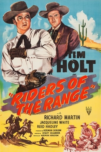 Poster of Riders of the Range