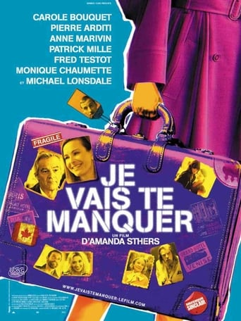 Poster of Je vais te manquer