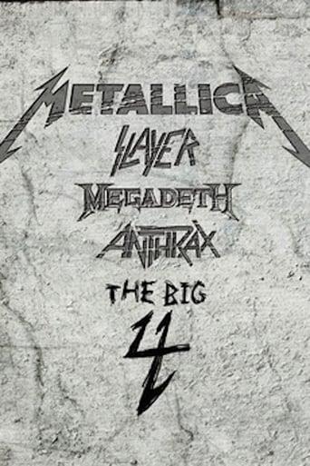 Metallica/Slayer/Megadeth/Anthrax: The Big 4 - Live in Gothenburg, Sweden
