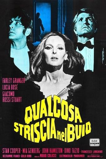 Poster of Qualcosa striscia nel buio