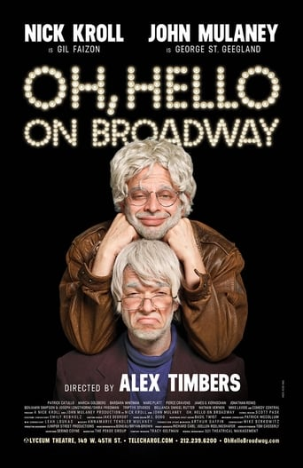 Poster of Oh, Hello on Broadway