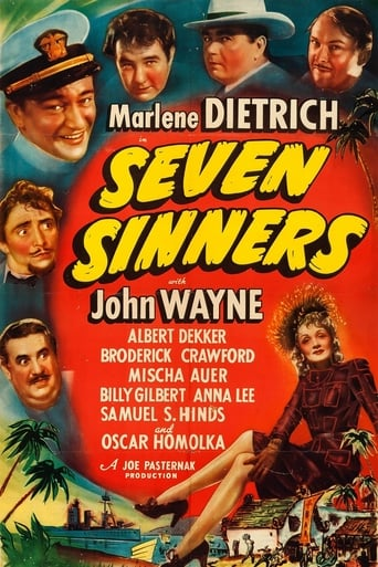 Poster of Seven Sinners