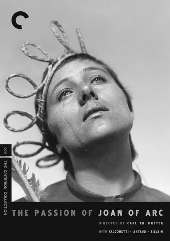 Poster The Passion of Joan of Arc