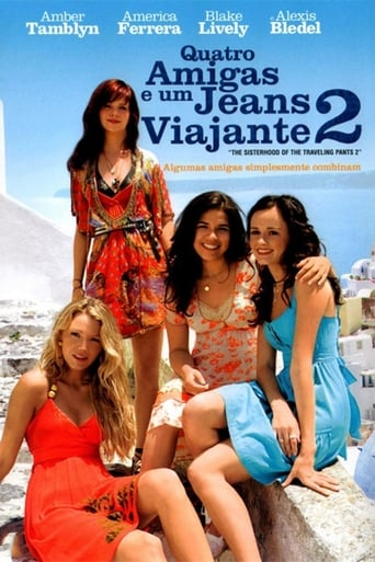 Quatro Amigas e um Jeans Viajante 2 - Poster