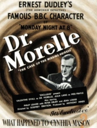 Poster of Dr. Morelle: The Case of the Missing Heiress