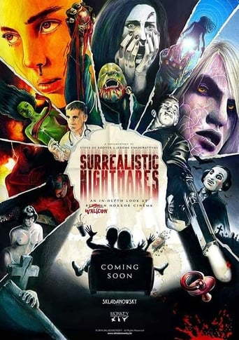 Poster of Surrealistic Nightmares: An In-depth Look at Walloon Horror Cinema