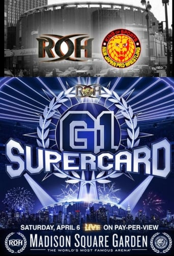 Poster of Ring of Honor & New Japan Pro-Wrestling Present: G1 Supercard