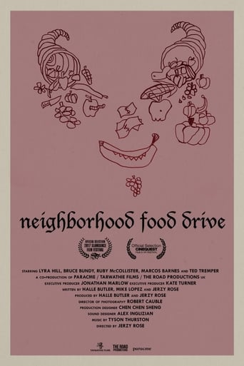 Poster of Neighborhood Food Drive