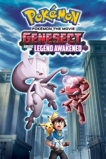 Poster of Pokémon the Movie: Genesect and the Legend Awakened