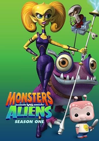 Monstros vs. Alienígenas 1ª Temporada Torrent (2013) Dual Áudio / Dublado WEB-DL720p e 1080p Download