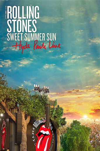 The Rolling Stones Sweet Summer Sun - Hyde Park Live - Poster