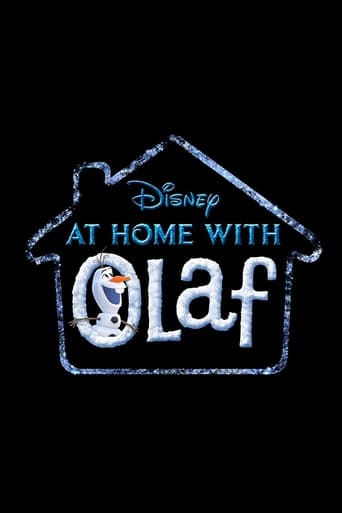At Home with Olaf Poster